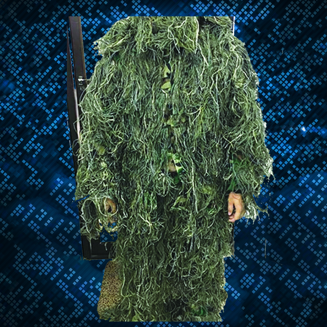 Ghilie Sniper Suit Model #1