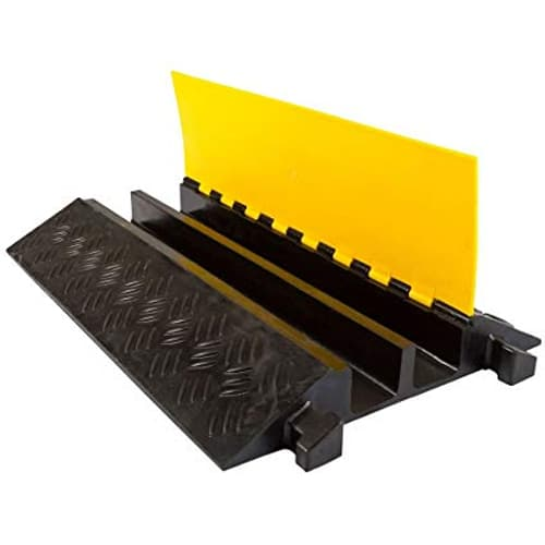 2 Channels Cable Ramp Protector For Outdoor