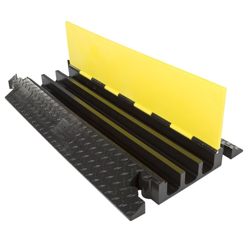 3 Channels Cable Ramp Protector For Outdoor