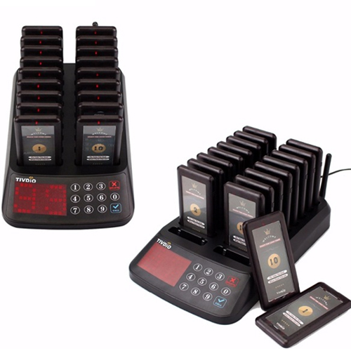 Restaurant Queueing Systems (Pager Type)