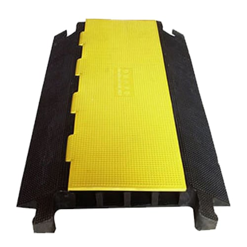 4 Channels Cable Ramp Protector For Outdoor